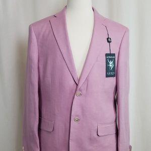 NWT Lauren by RL 100% Linen Lavender Sport Coat